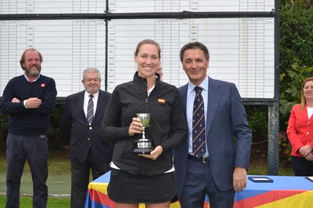 Ane Urchegui Campeona de España Mid-Amateur Femenino 2019